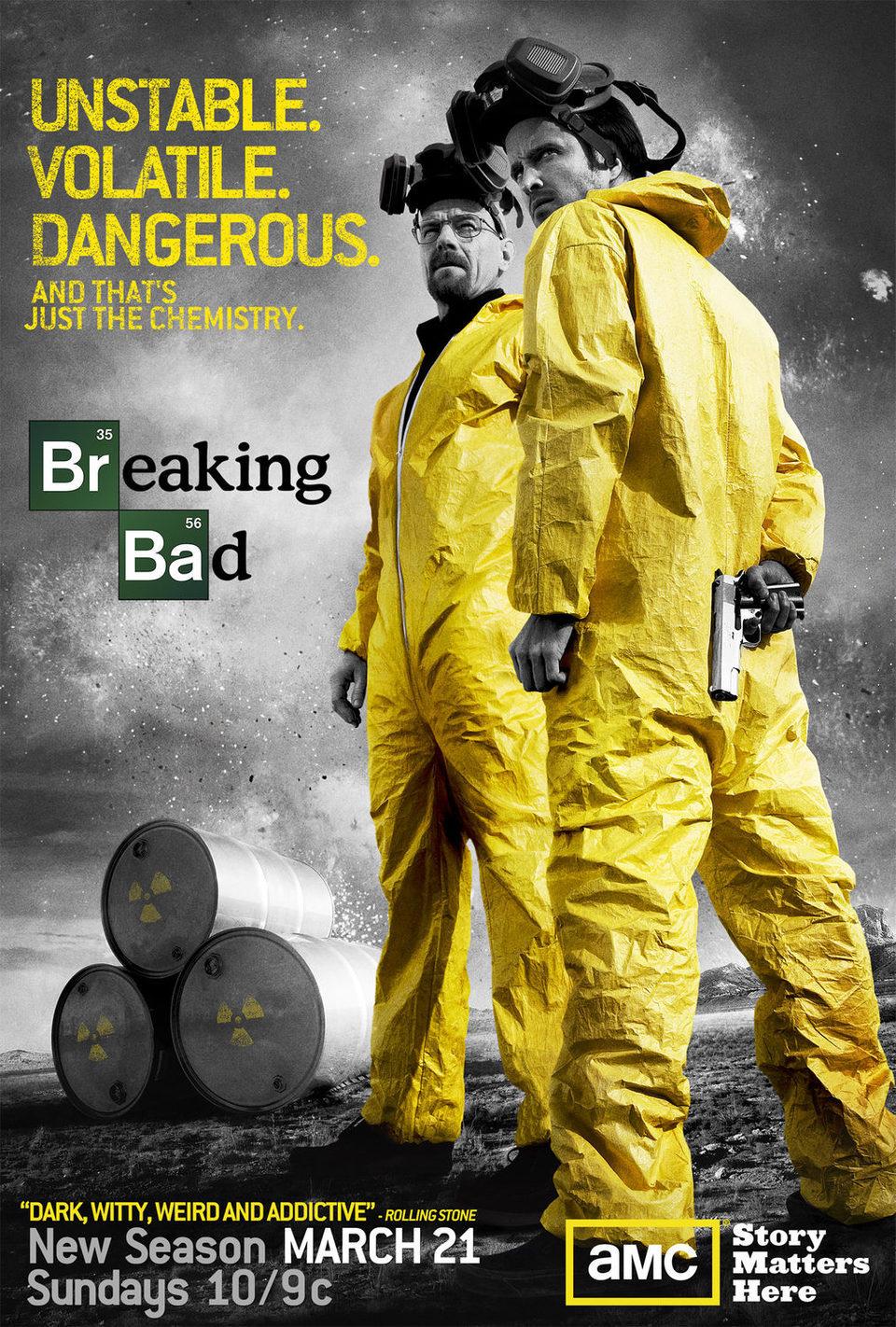 Temporada 3 poster for Breaking Bad