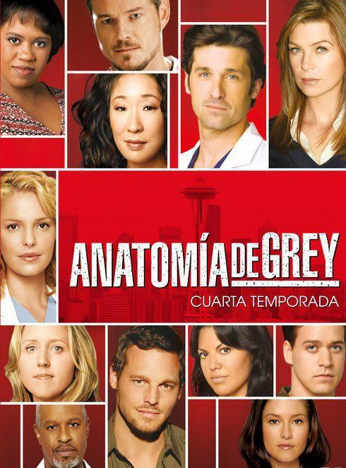 Temporada 4 poster for Grey's Anatomy