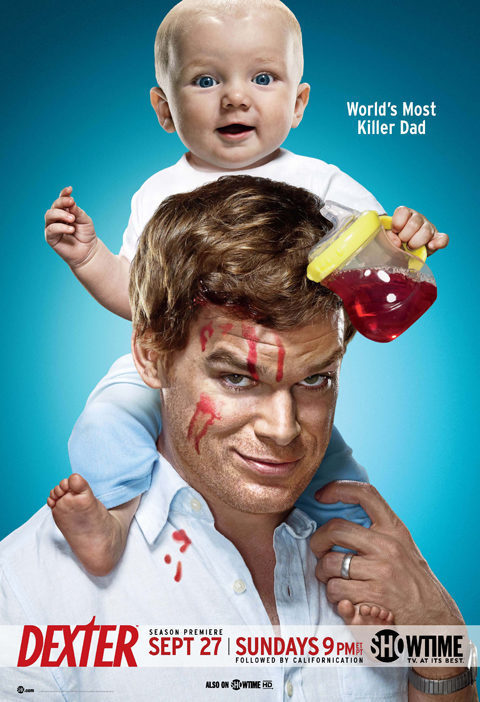 Temporada 4 poster for Dexter
