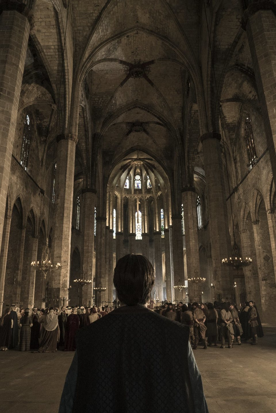 Teaser poster for La catedral del mar