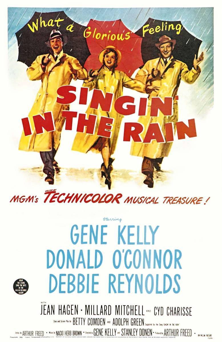 Estados Unidos poster for Singin' in the rain