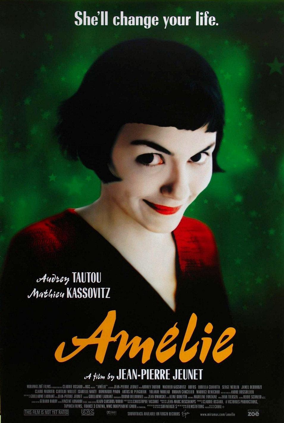 Estados Unidos poster for Amélie