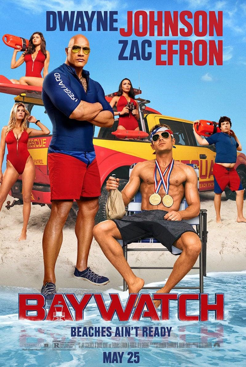 EEUU 'Baywatch: Los Vigilantes de la Playa' poster for Baywatch