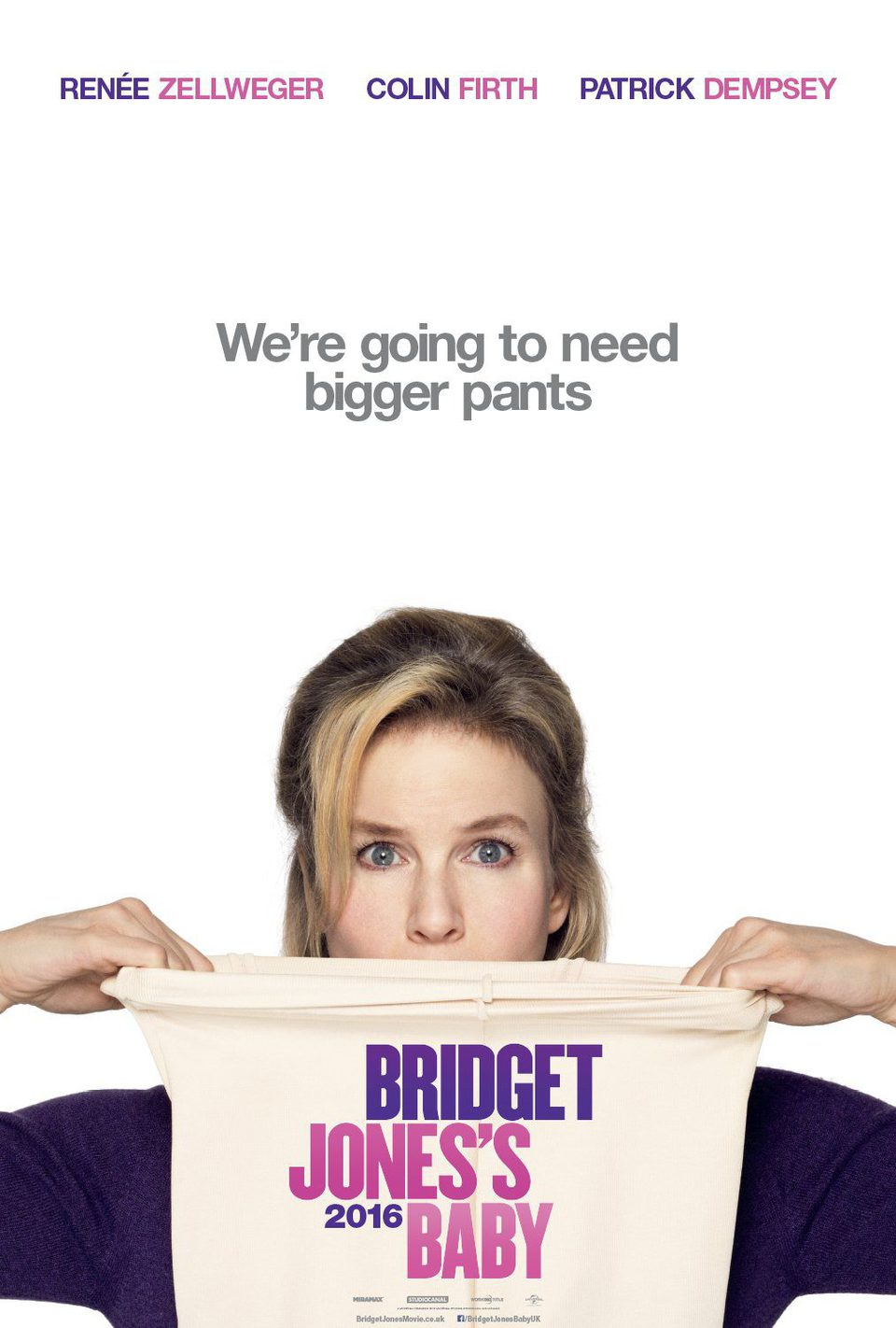 Teaser EE.UU. poster for Bridget Jones' Baby