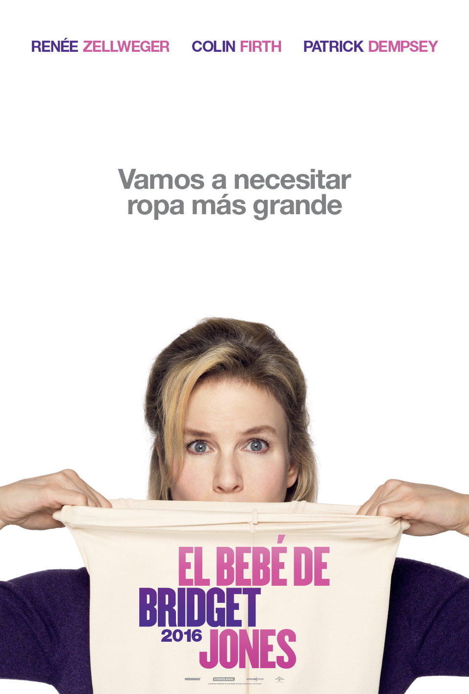 Teaser México poster for Bridget Jones' Baby