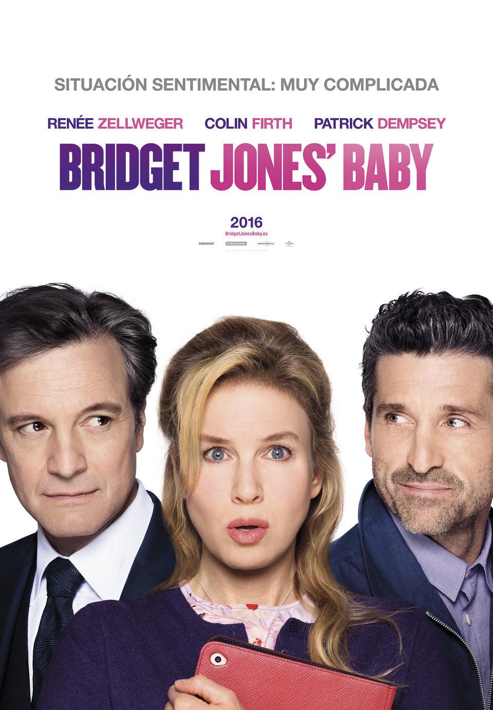 España #1 poster for Bridget Jones' Baby