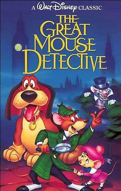 Basil, the Great Mouse Detective poster