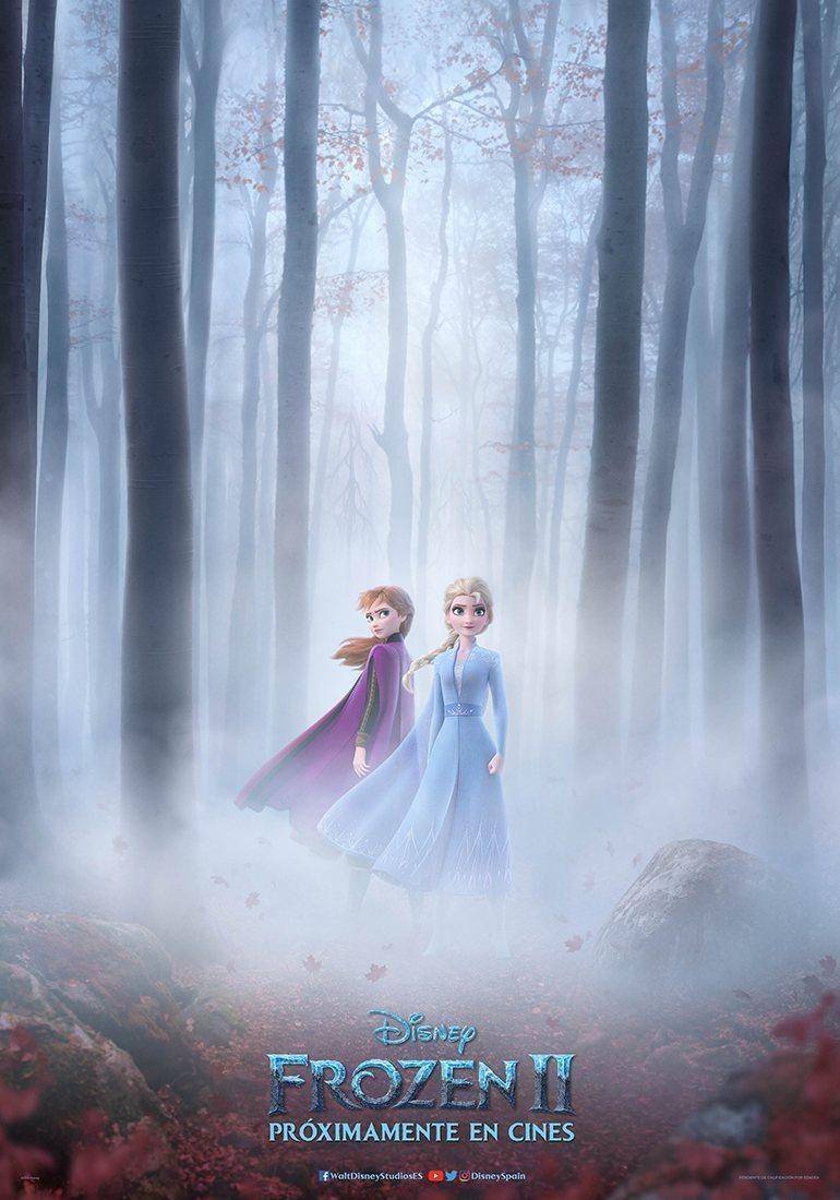 PÓSTER ESPAÑA poster for Frozen 2