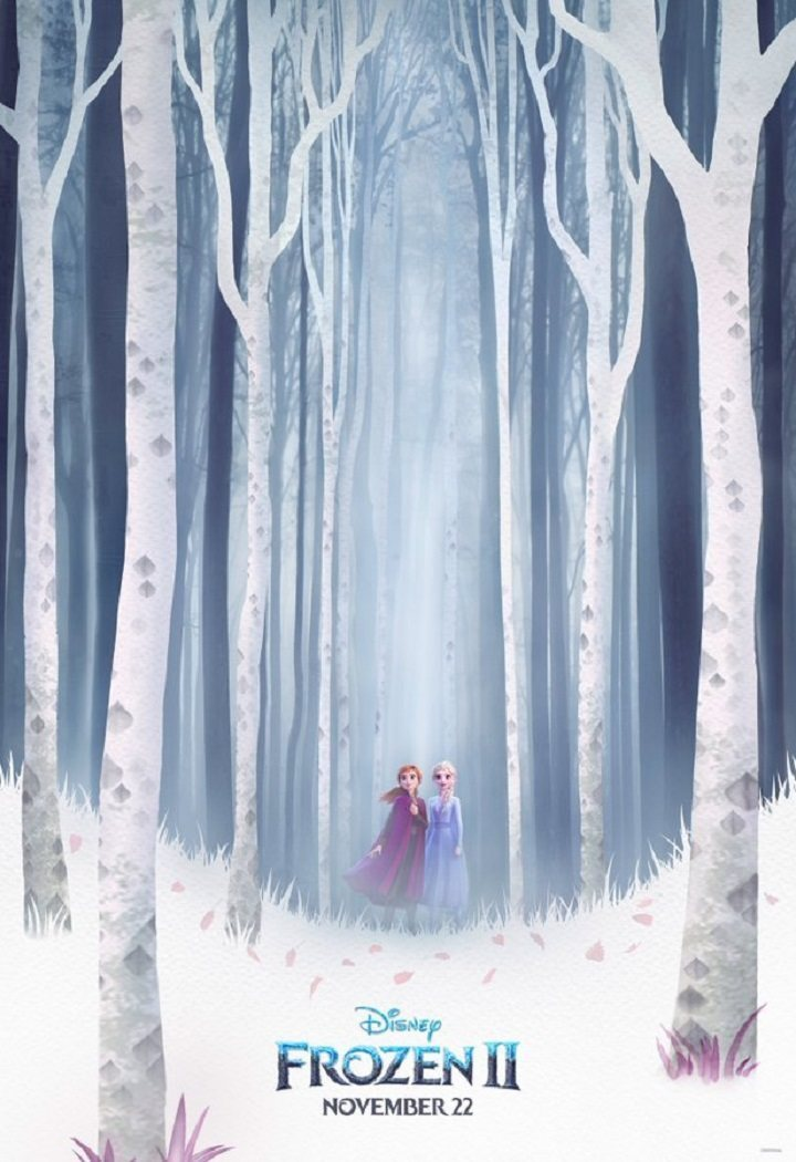 Póster poster for Frozen 2
