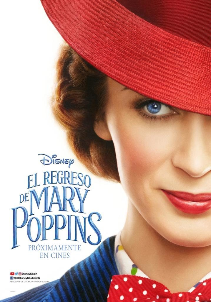 Póster España poster for Mary Poppins Returns