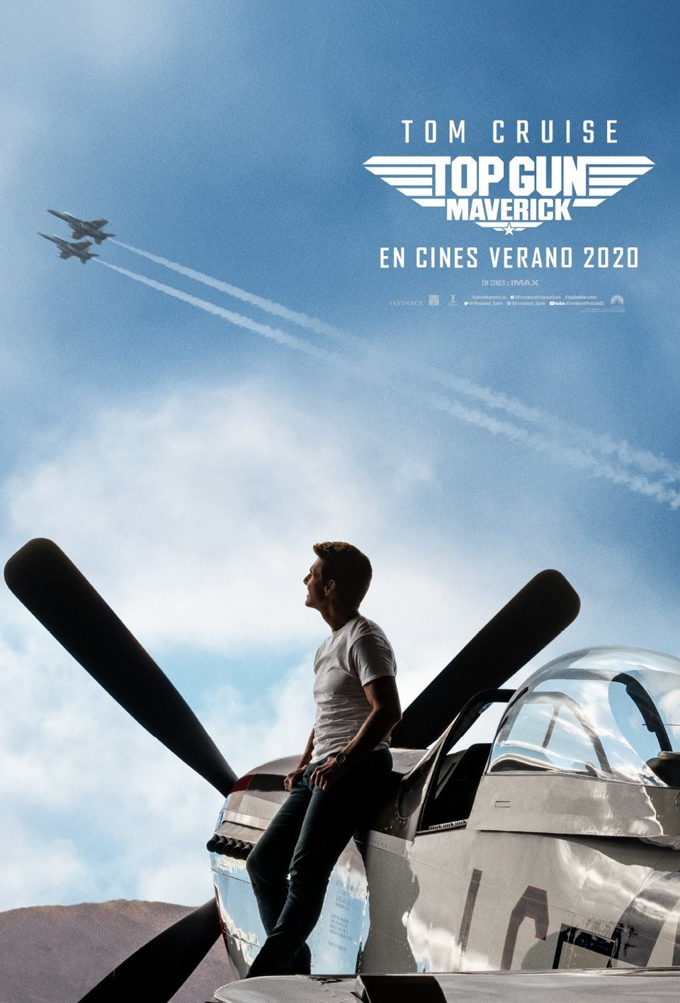 España #2 poster for Top Gun: Maverick