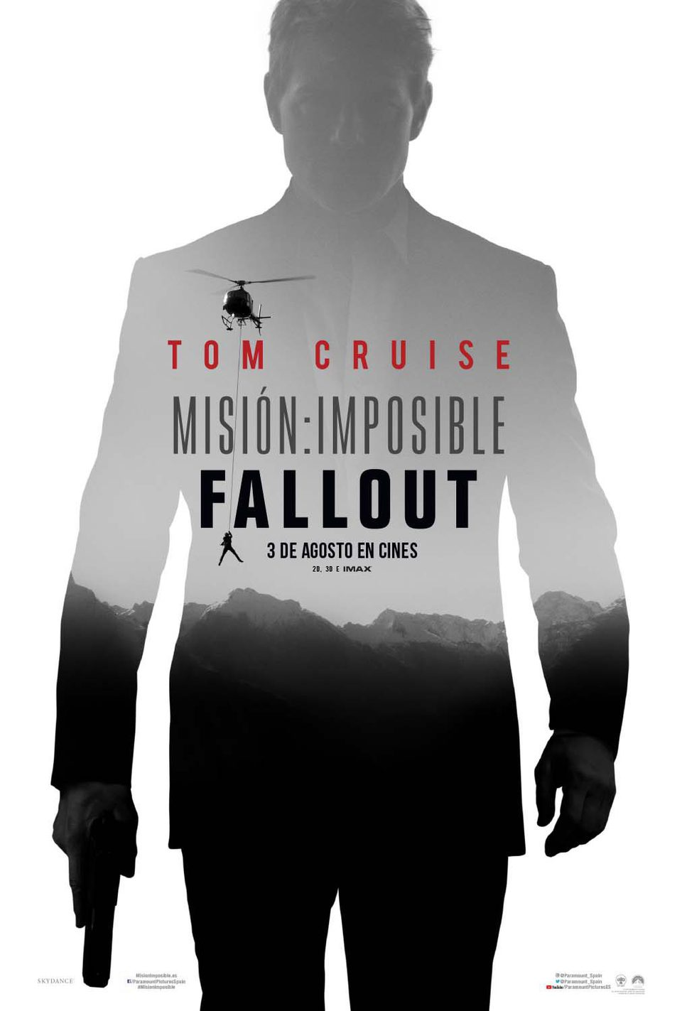 póster 1 poster for Mission: Impossible - Fallout