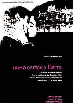 Nine letters to Bertha poster