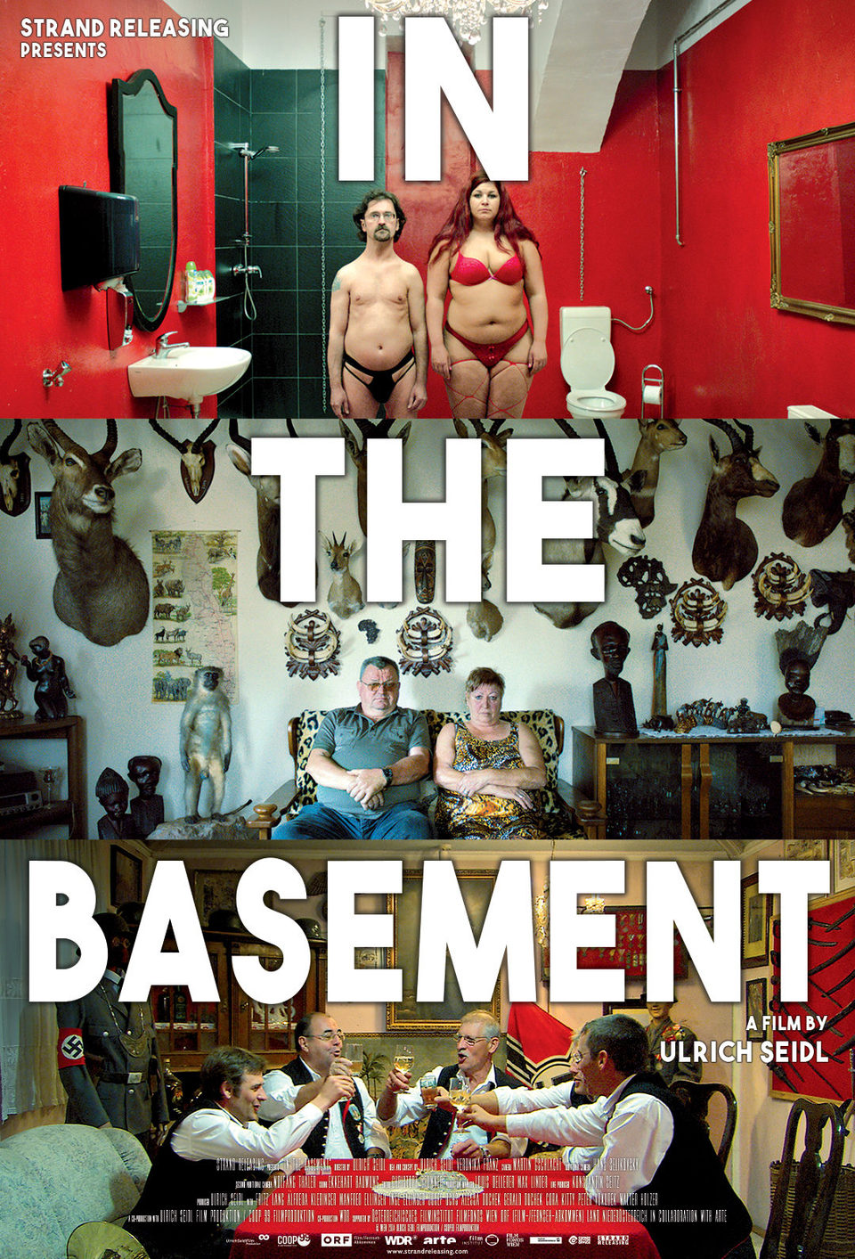 EE.UU poster for In the Basement