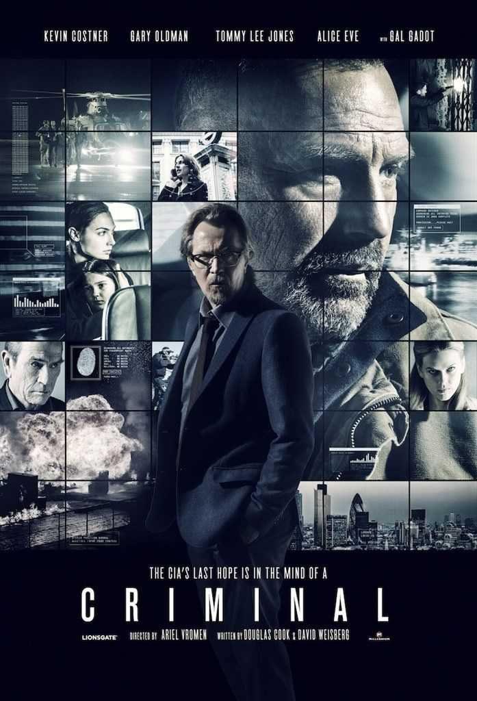 U.K poster for Criminal