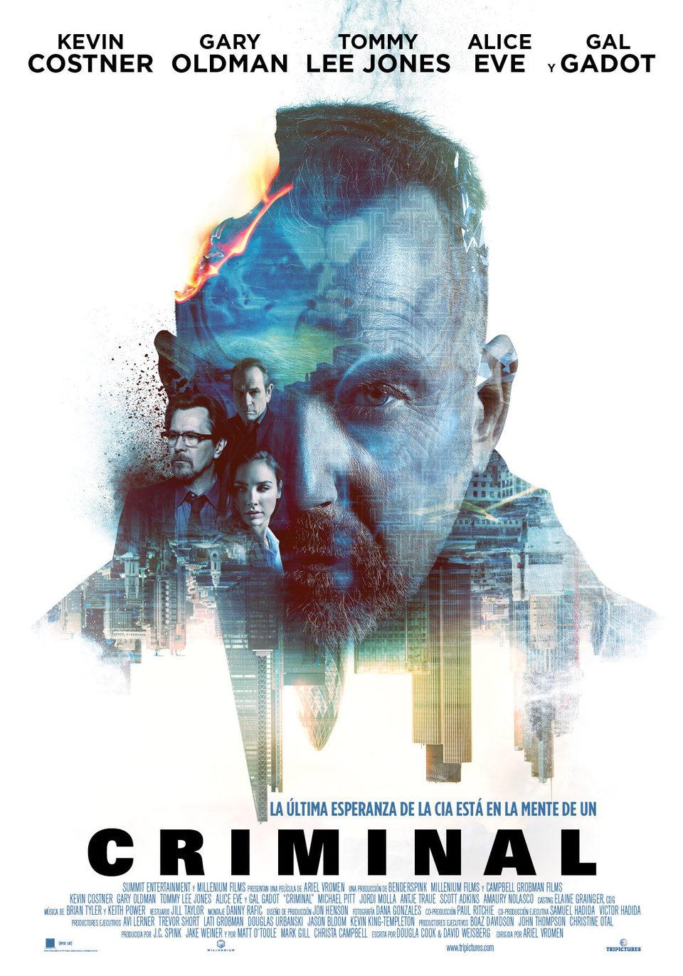 España poster for Criminal