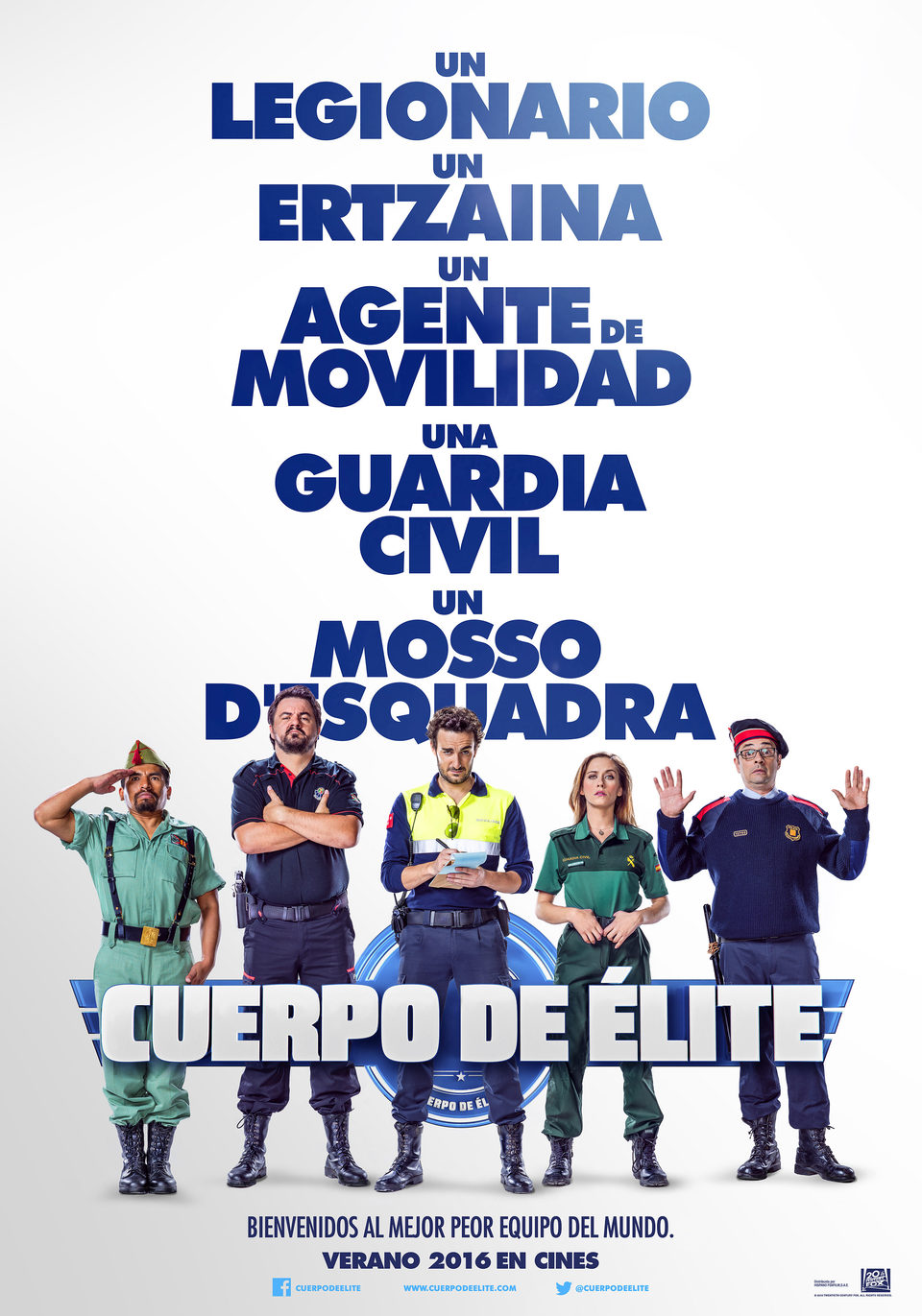 España poster for Heroes wanted