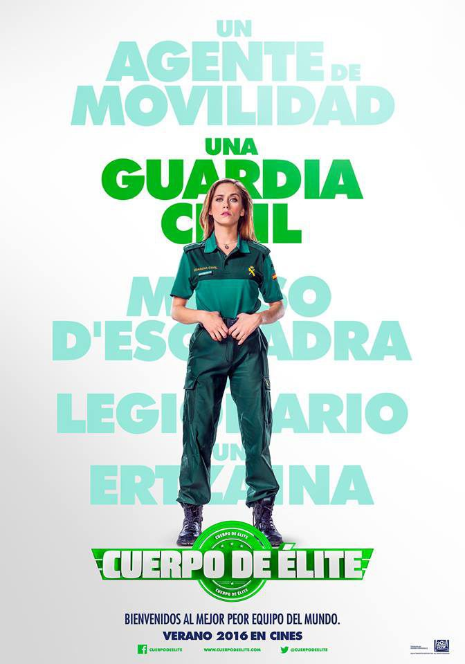 María León poster for Heroes wanted