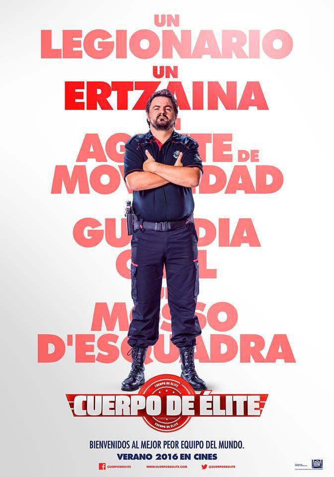 Andoni Agirregomezkorta poster for Heroes wanted