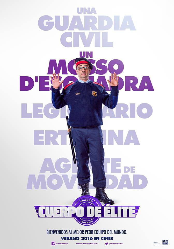Jordi Sánchez poster for Heroes wanted