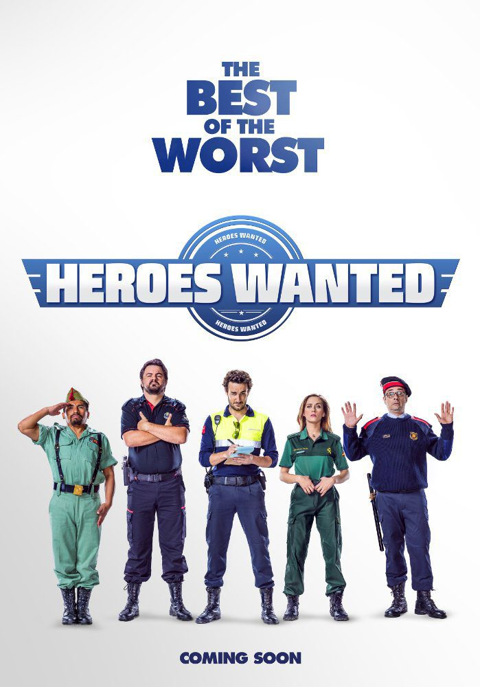 Heroes Wanted poster for Heroes wanted