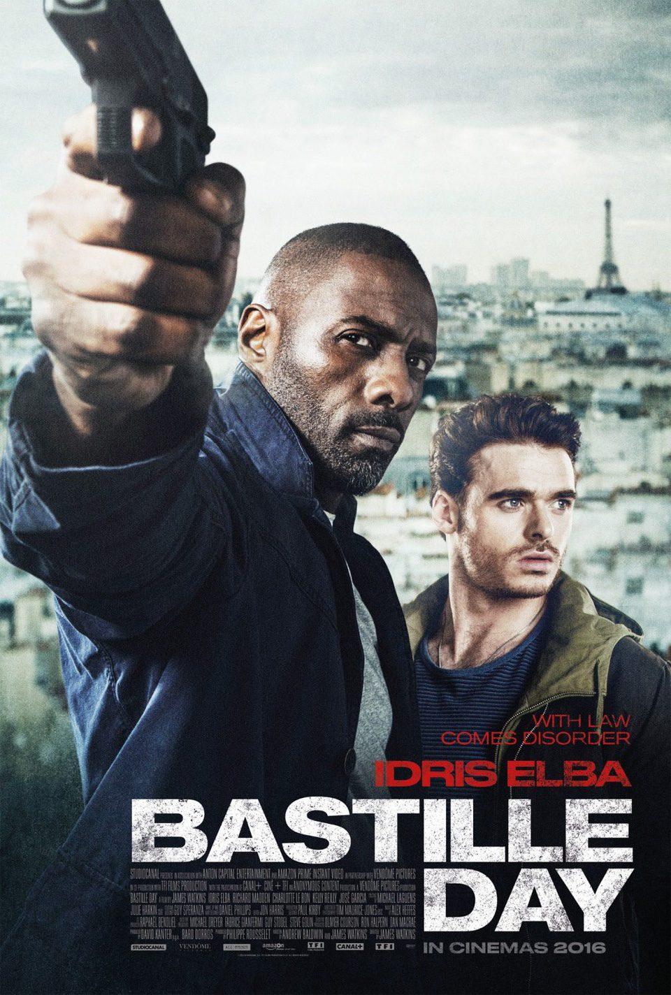 Reino Unido poster for Bastille Day