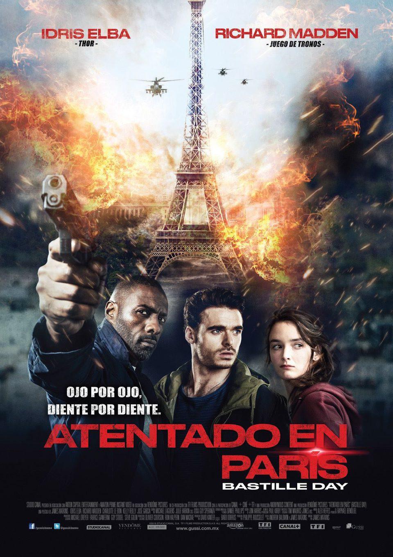 México poster for Bastille Day