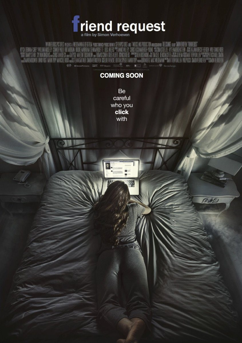 Internacional poster for Friend Request