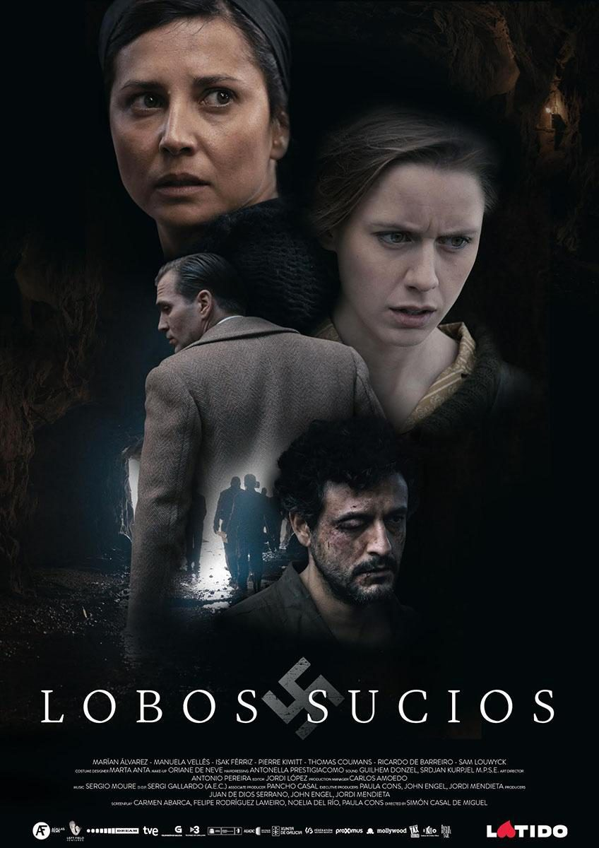 Lobos sucios poster for Dirty Wolves