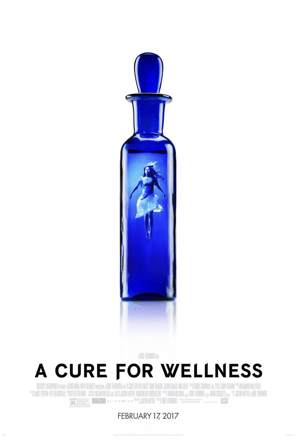 'A cure for Wellness' poster for A Cure for Wellness