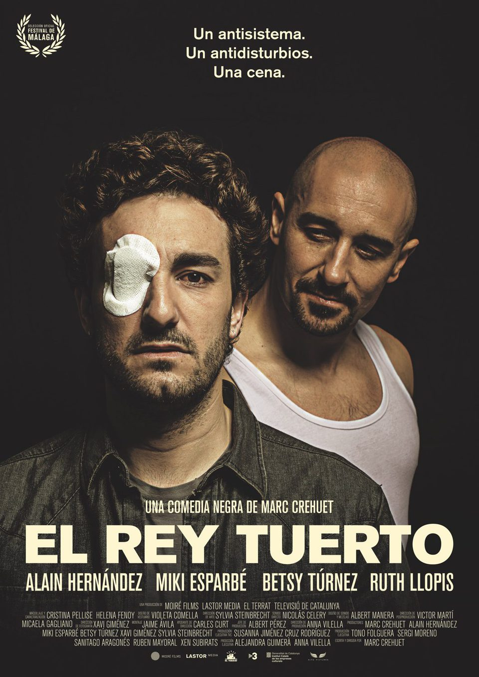 España poster for El rey tuerto