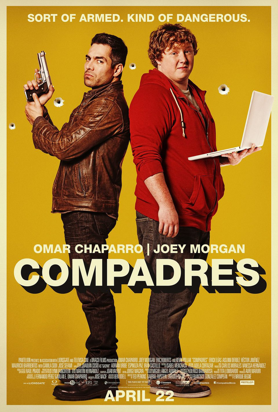 Estados Unidos poster for Compadres