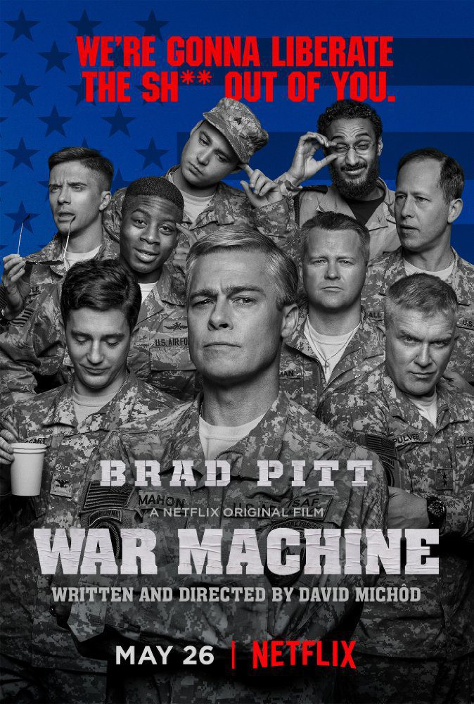 poster for War machine