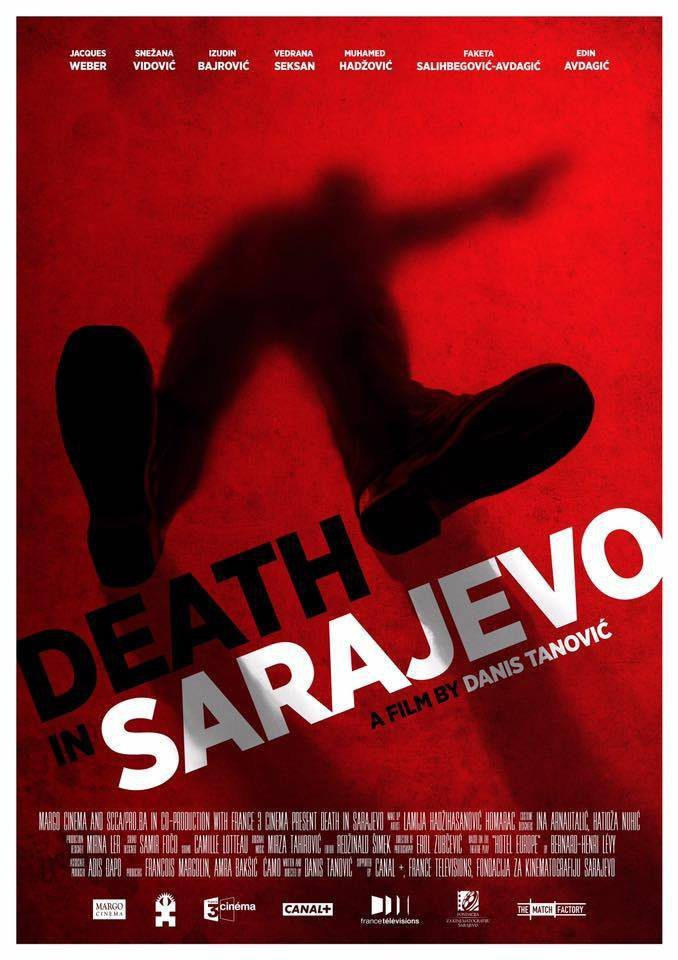 Internacional poster for Death in Sarajevo