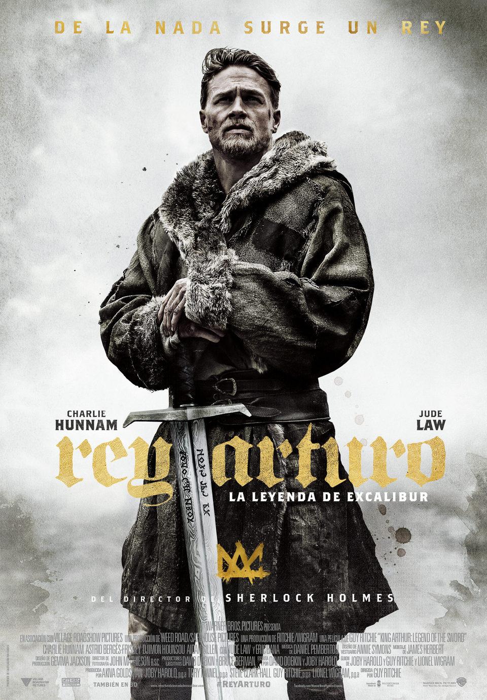 Póster España poster for King Arthur: Legend of the Sword