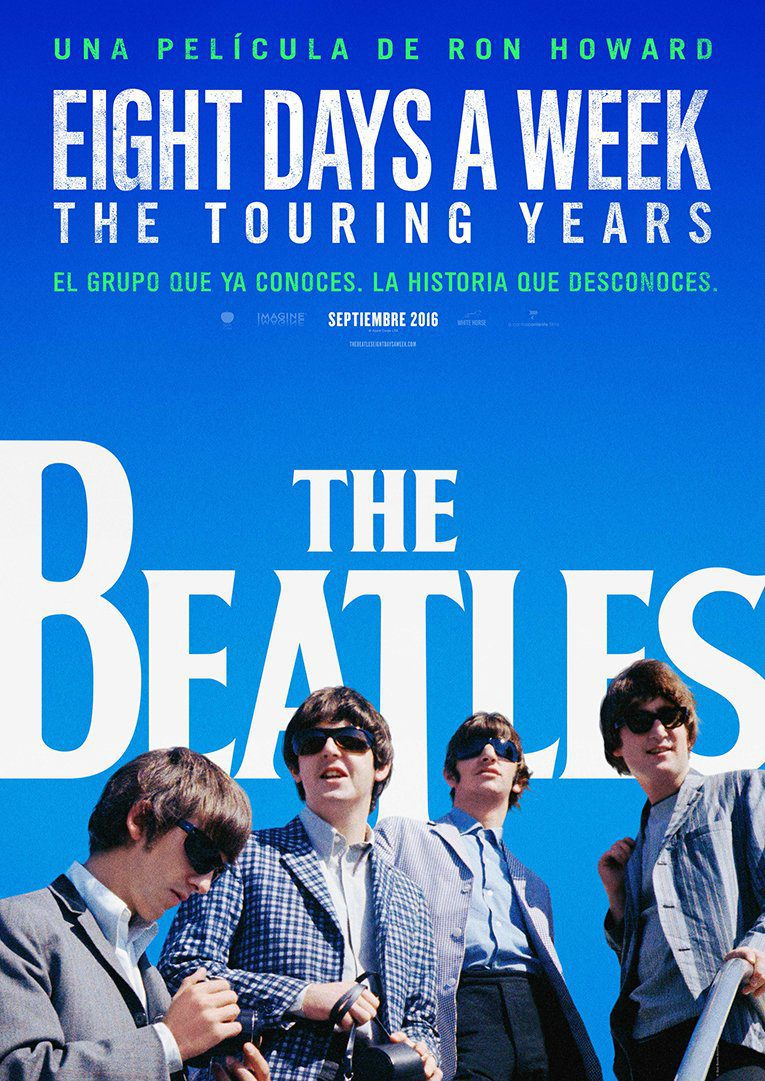 España poster for The Beatles: Eight Days a Week