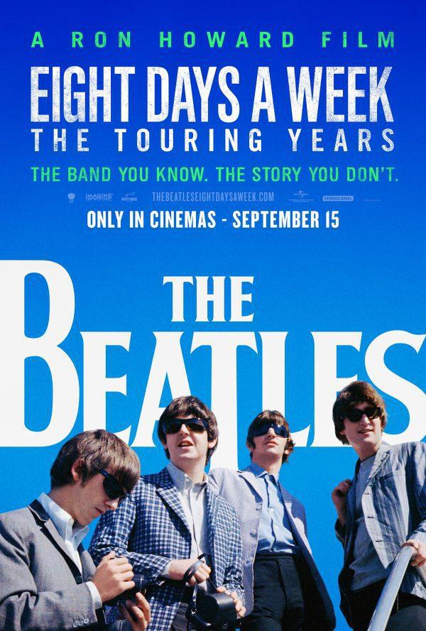 Estados Unidos poster for The Beatles: Eight Days a Week
