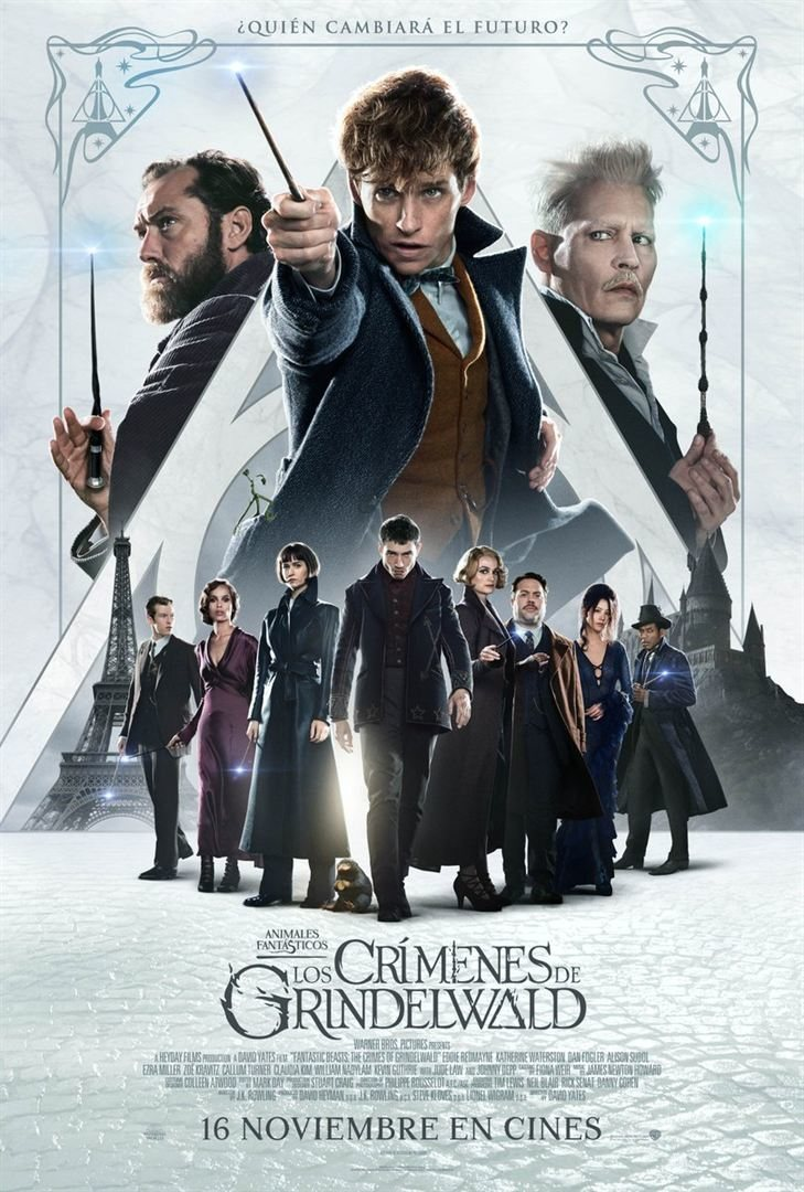 España #4 poster for Fantastic Beasts: The Crimes of Grindelwald