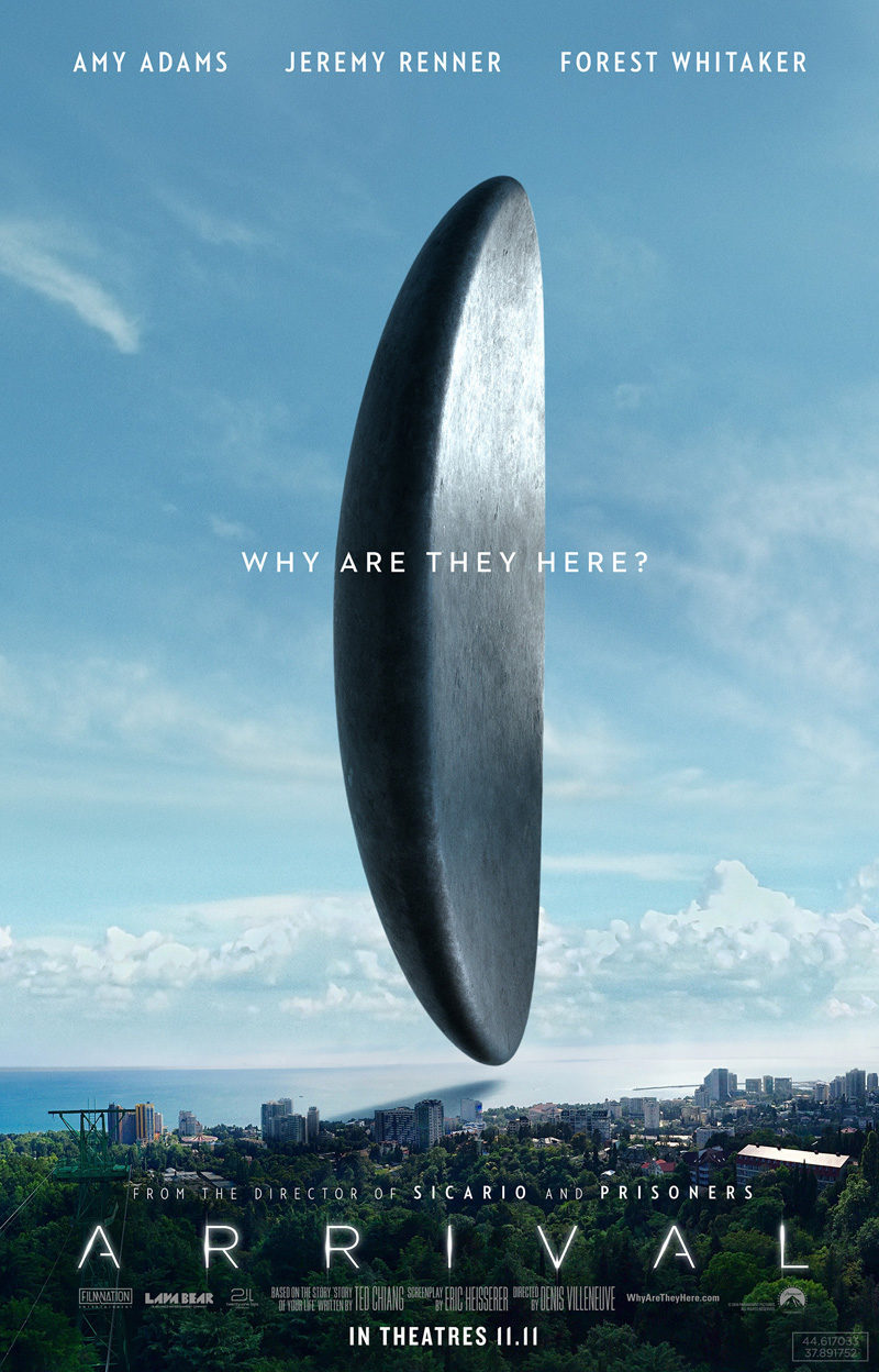 #2 poster for Arrival