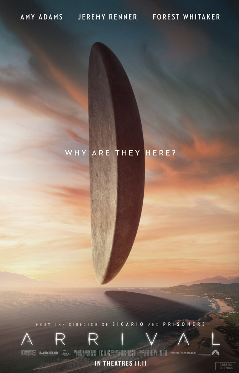 #6 poster for Arrival