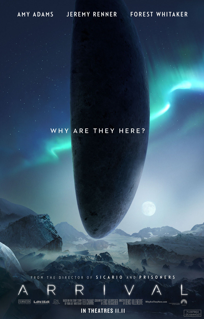 #7 poster for Arrival