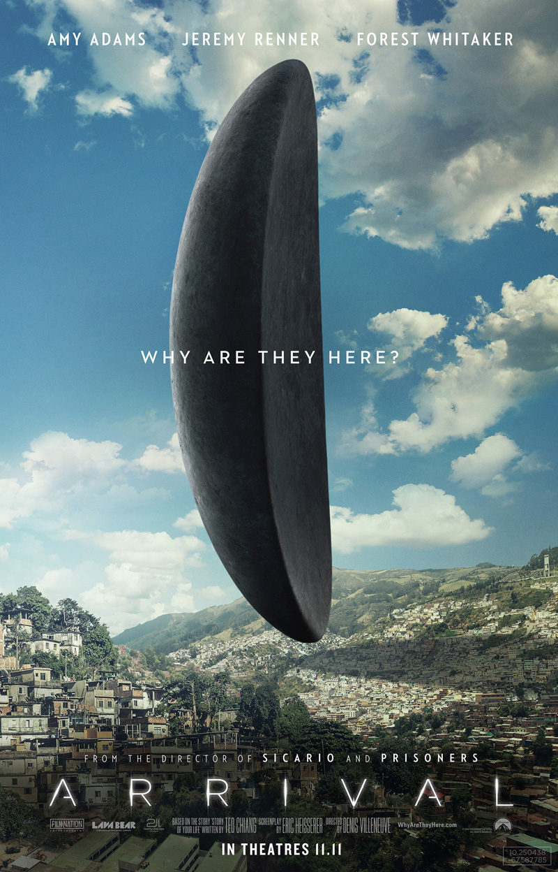 #9 poster for Arrival