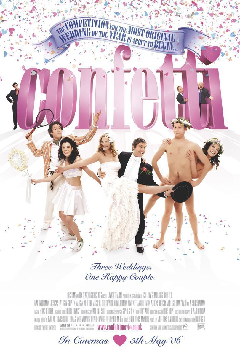 Reino Unido poster for Confetti