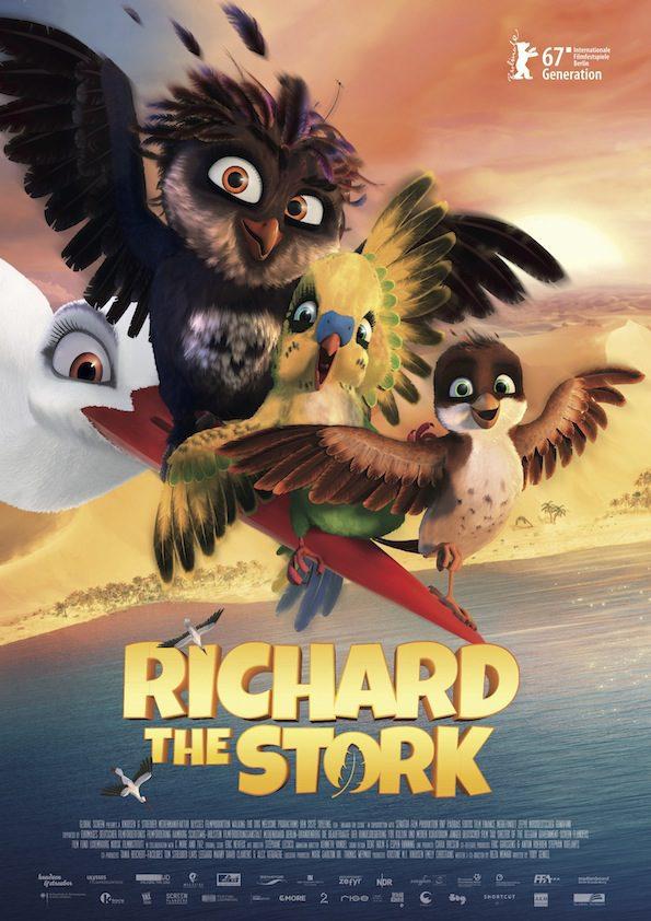 Internacional #2 poster for A Stork's Journey