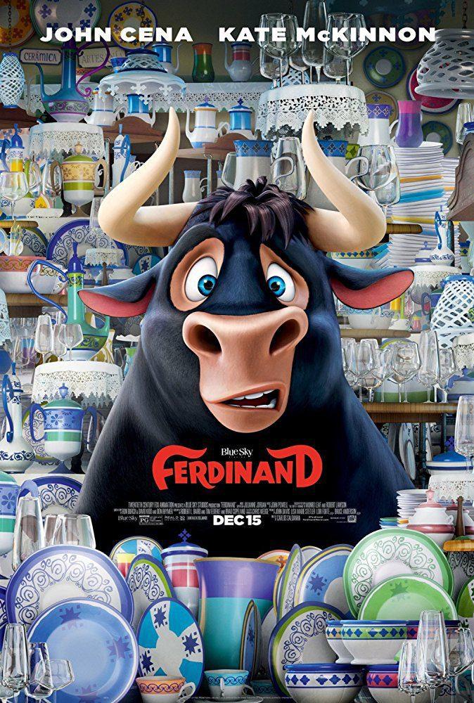 United Kingdom poster for Ferdinand