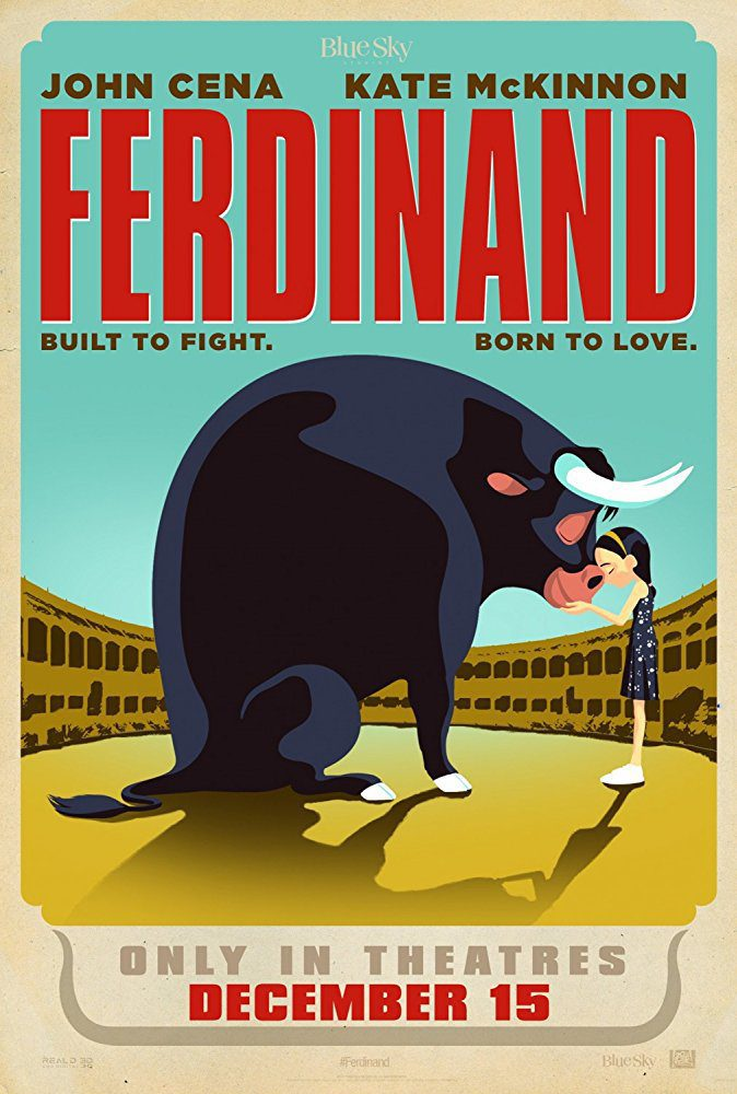 Cartel promocional #4 poster for Ferdinand