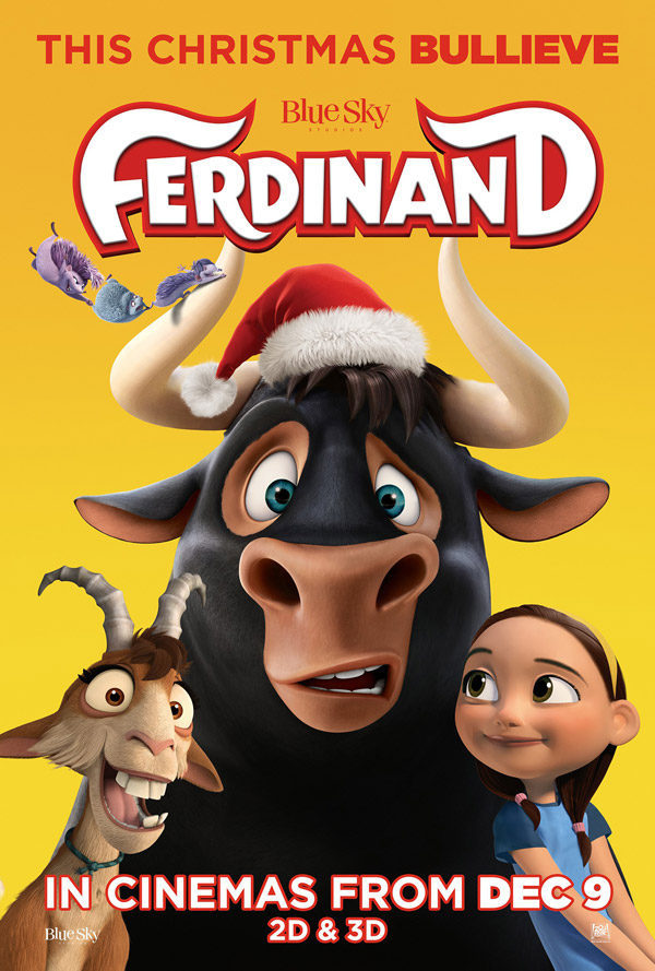 Christmas poster poster for Ferdinand