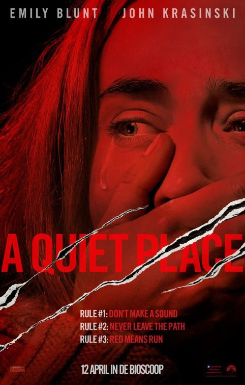 póster 2 poster for A Quiet Place