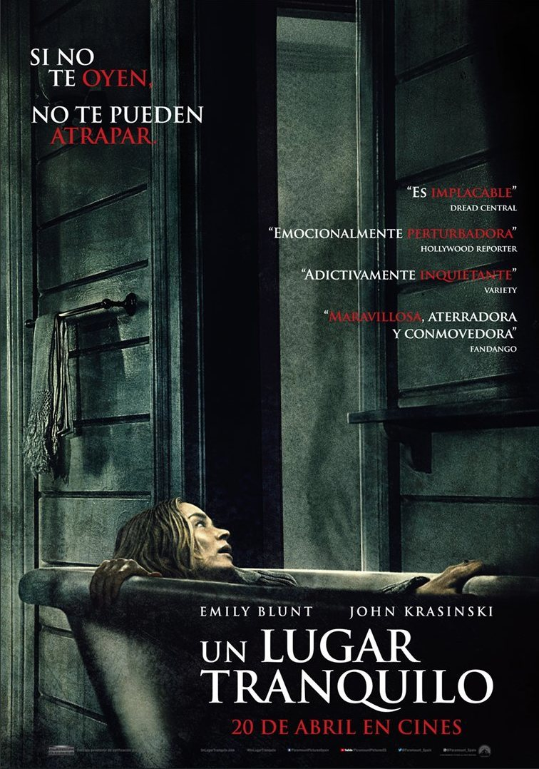 póster final poster for A Quiet Place