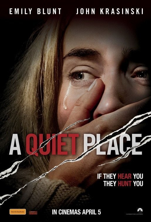 póster 3 poster for A Quiet Place